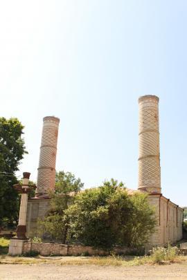 Yukhari Govhar Agha Mosque, in Shushi
