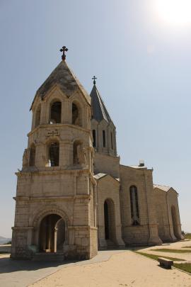 Ghazanchetsots Cathedral, in Shushi