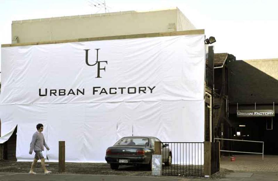 Urban Factory, Great King St: opened.