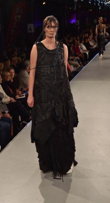 Designs by Sharlee Ghent at this year's iD Dunedin Fashion Week. Photos: GREGOR RICHARDSON