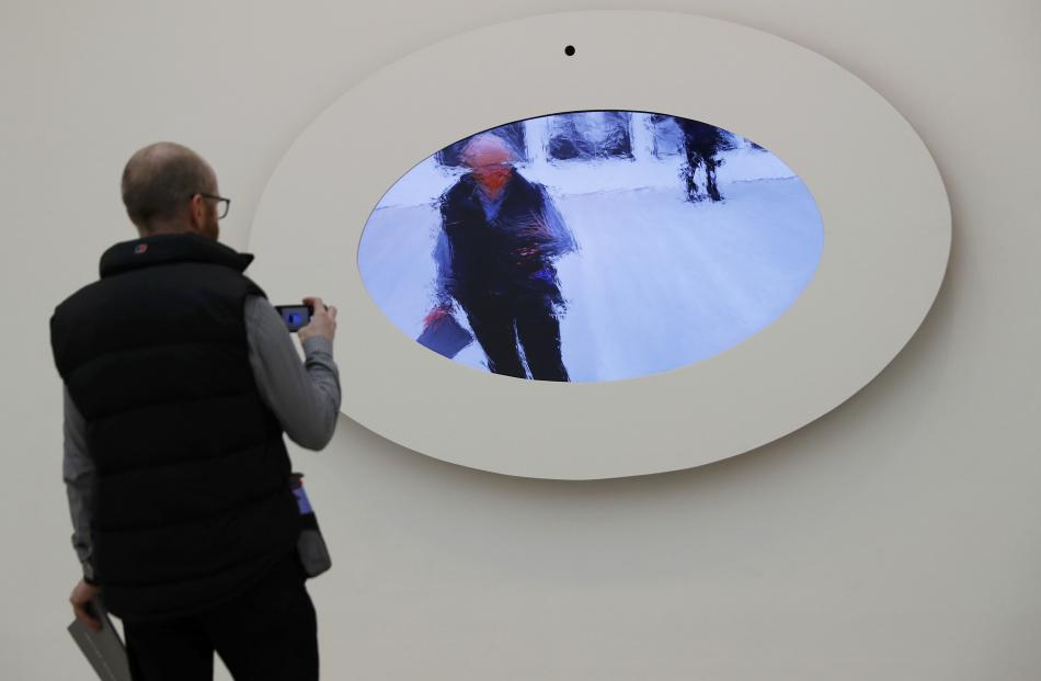 'Mirror No. 12' by Daniel Rozin. Photo: Reuters