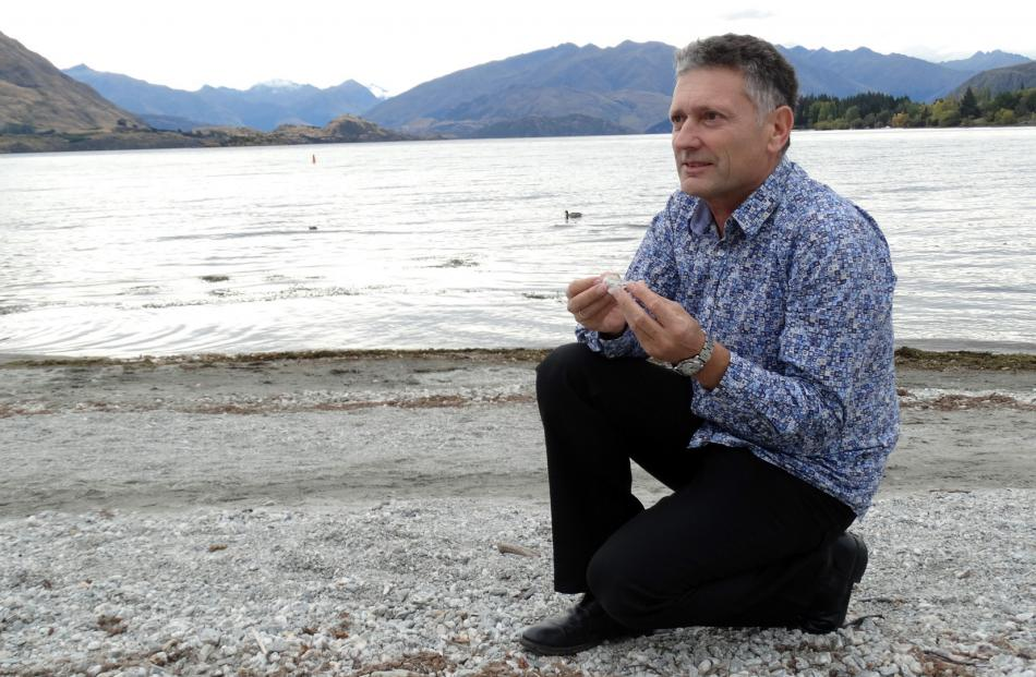 University of Otago professor of earthquake science Mark Stirling. Photo: Kerrie Waterworth.
