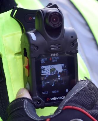 The body cameras that parking enforcement officers are now required to wear.
