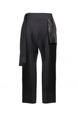 Company of Strangers Station Trousers, leather, $495