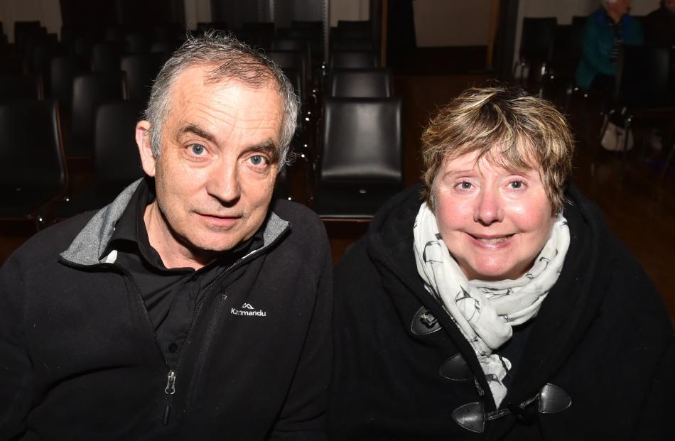 David and Beverly Glenn, of Dunedin.