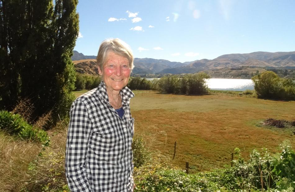 Paddy Strain has observed Lake Hayes' changes from her lakeside home for six decades. Photo:...