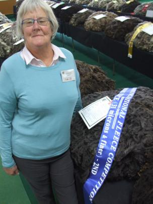 Black and Coloured Sheep Breeders Association of New Zealand president Phillippa Sanders, of...
