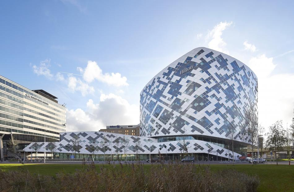 Hilton Hotel Schiphol Airport, Netherlands. PHOTO: HILTON HOTELS AND RESORTS