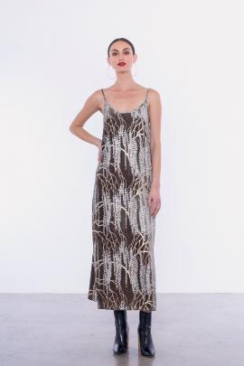 Staple+Cloth Raven velvet slip dress, $299