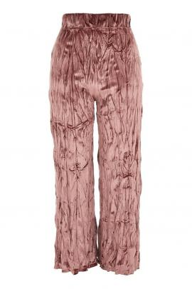 Topshop crushed velvet trousers, $70