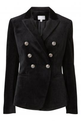 Witchery velvet blazer, $349.90