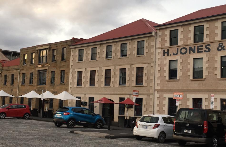 The Henry Jones Art Hotel in Hobart.