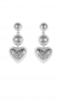 Casual: Ruby Amore earrings, $49