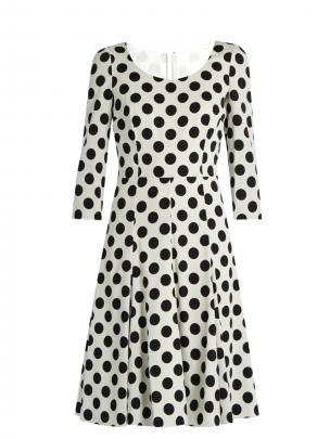 Dolce & Gabbana polka dot print dress $2215