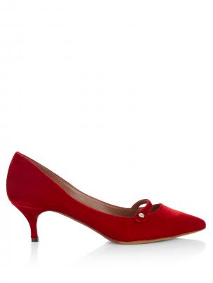 Tabitha Simmons layton velvet mary-jane pumps $635