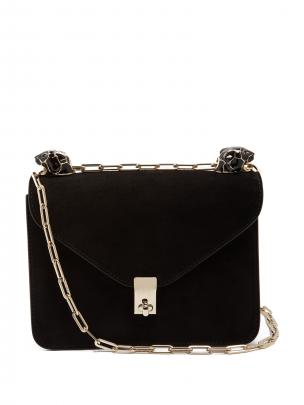 Valentino panther suede bag $2390