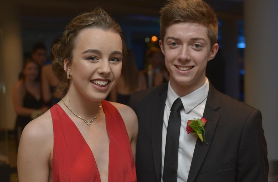 Abbey Smith (17) and Charlie Humphrey (17)