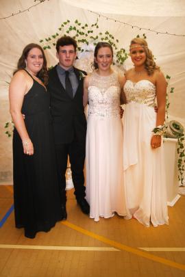Hayley Bungard (17) of Palmerston and Bob Martin (17), Nicole McLeod (17), Nicole Bungard