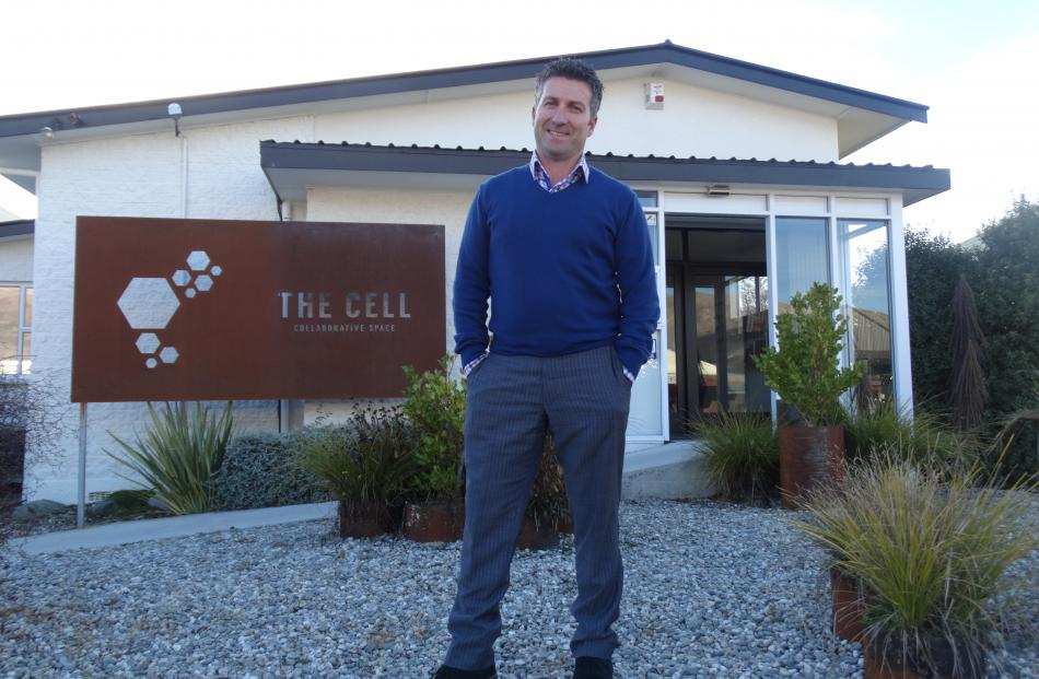 Cube business development manager Jason Watkins outside the Cell in Helwick St. Photos: Kerrie Waterworth