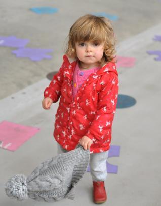 Margot Rogers (20 months), of Dunedin.