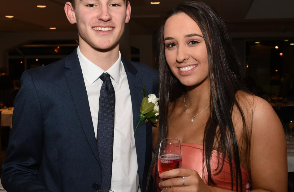 Tim Barham (16), of  King's, and Mila Jojic (16), of  St Hilda's.