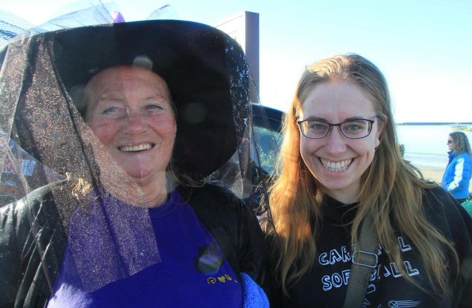 Nadine Russell, of Herbert, and Alissa Anderson, of Oamaru.