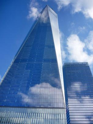 "The ""Freedom Tower"" or One World Trade Centre is the centrepiece of the rebuilt World Trade..."