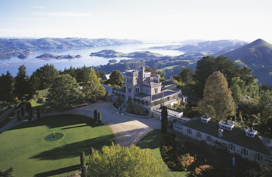 The views from Larnach Castle are nothing short of breathtaking.
