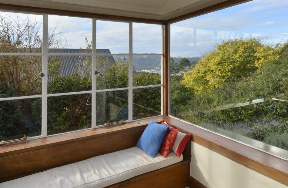 A window seat is an ideal place to linger. ''It's rare to have a house of this era built to the...