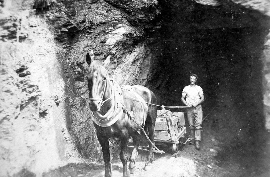 The Oxenbridge Tunnel on the day it was pierced.