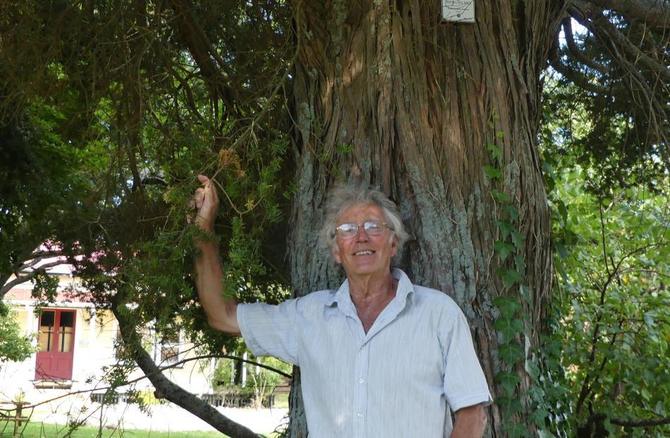 Philip Simpson, author of Totara.