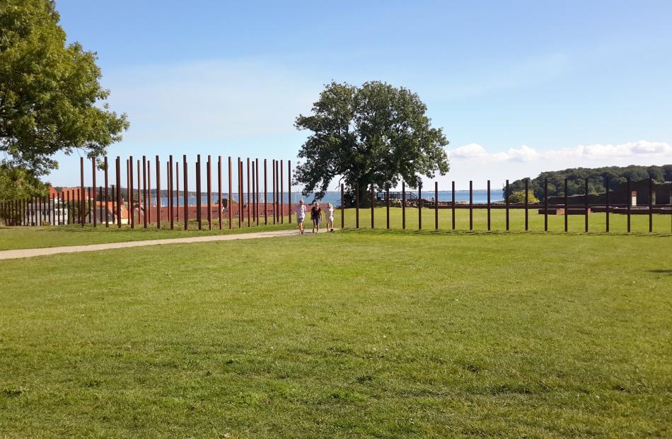 Site of ancient royal castle in Vordingborg.