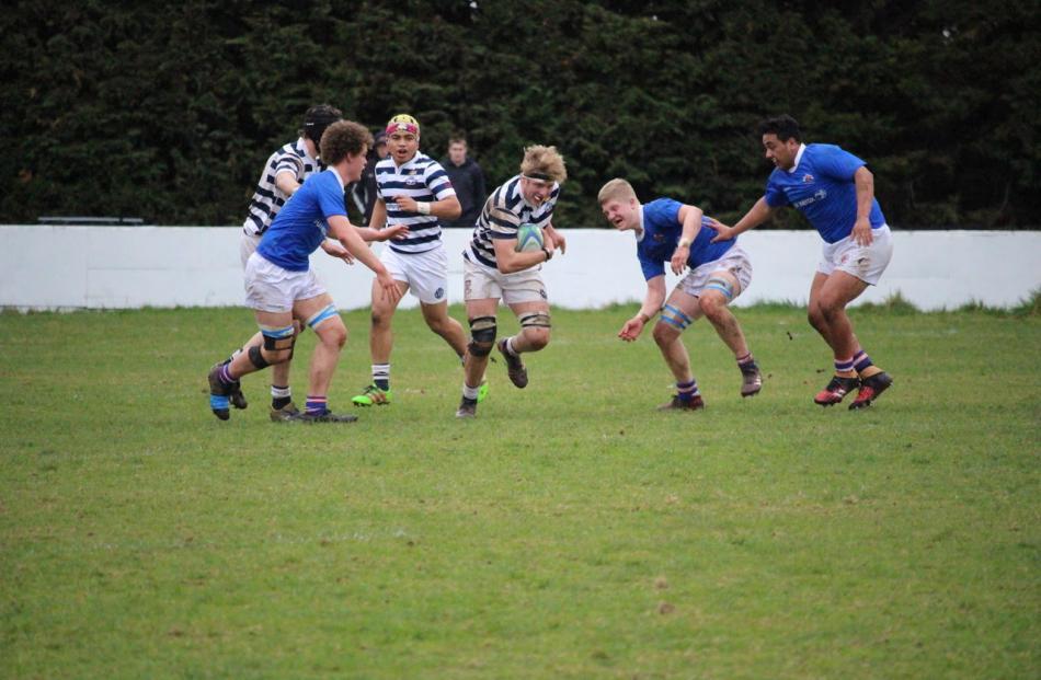 Otago Boys High School vs Southland Boys High School