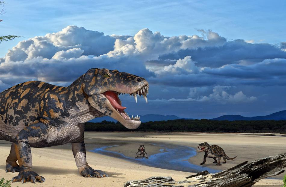 Dinocephalians appeared in the early Permian and became the largest animals of this period, some...