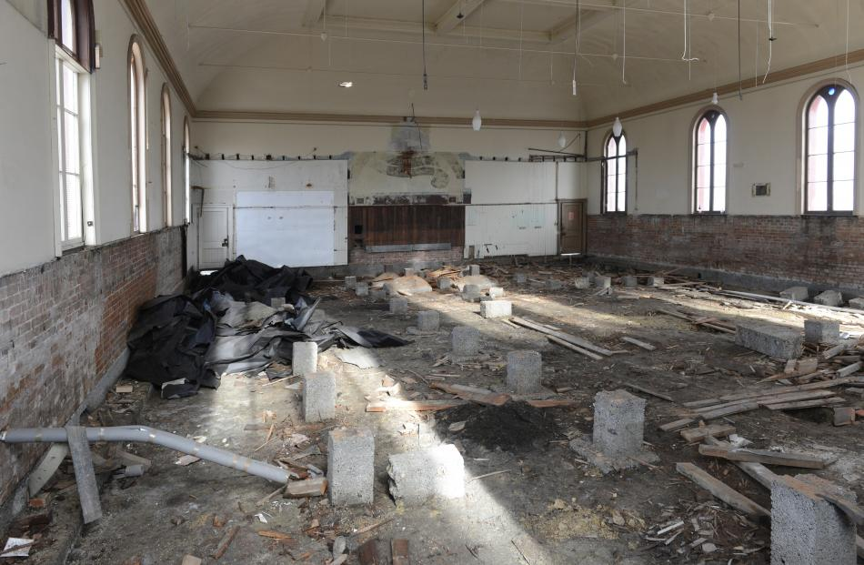 The now deserted Wesley Methodist church.