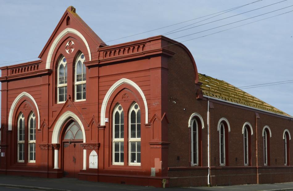 The former Wesley Methodist church. Photos: Gerard O'Brien
