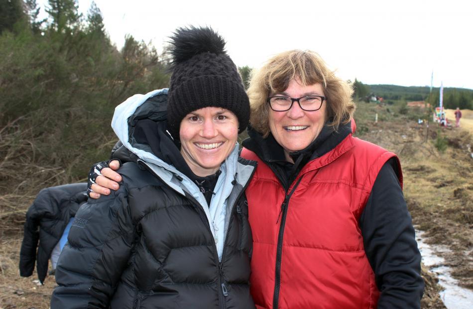 Jen Stevenson and Wendy Cobb, both of Dunedin.