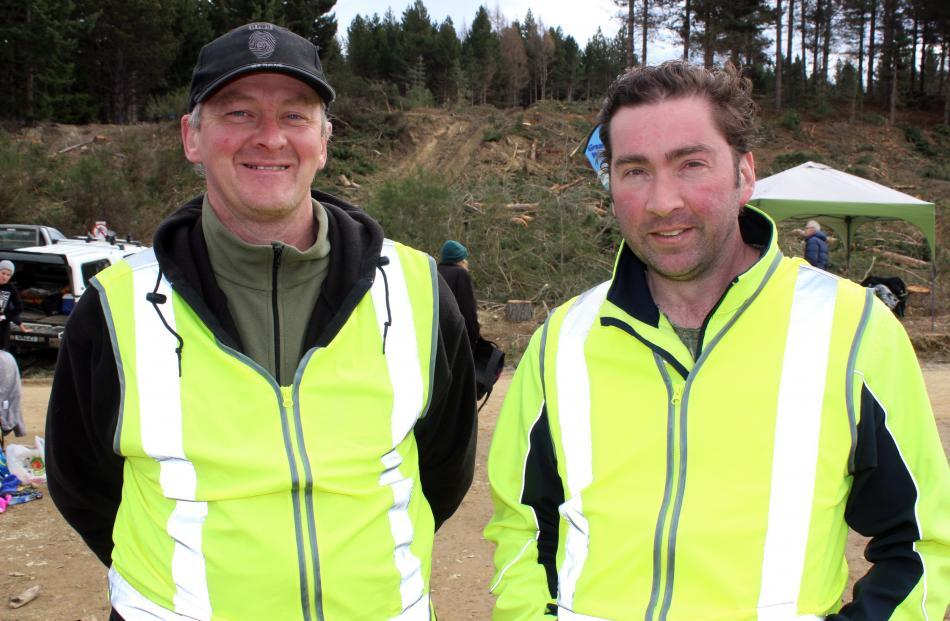 Dermot Mayock and Richie Marlow, both of Dunedin.