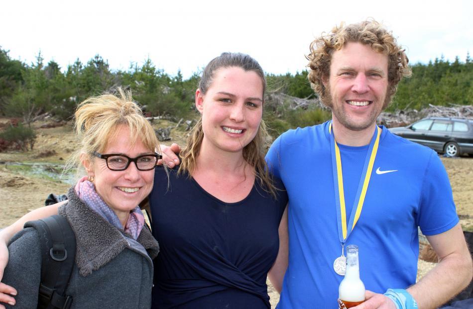 Nicola Kirkman, Beulah Ferguson and Luke Smyth, all of Oamaru.
