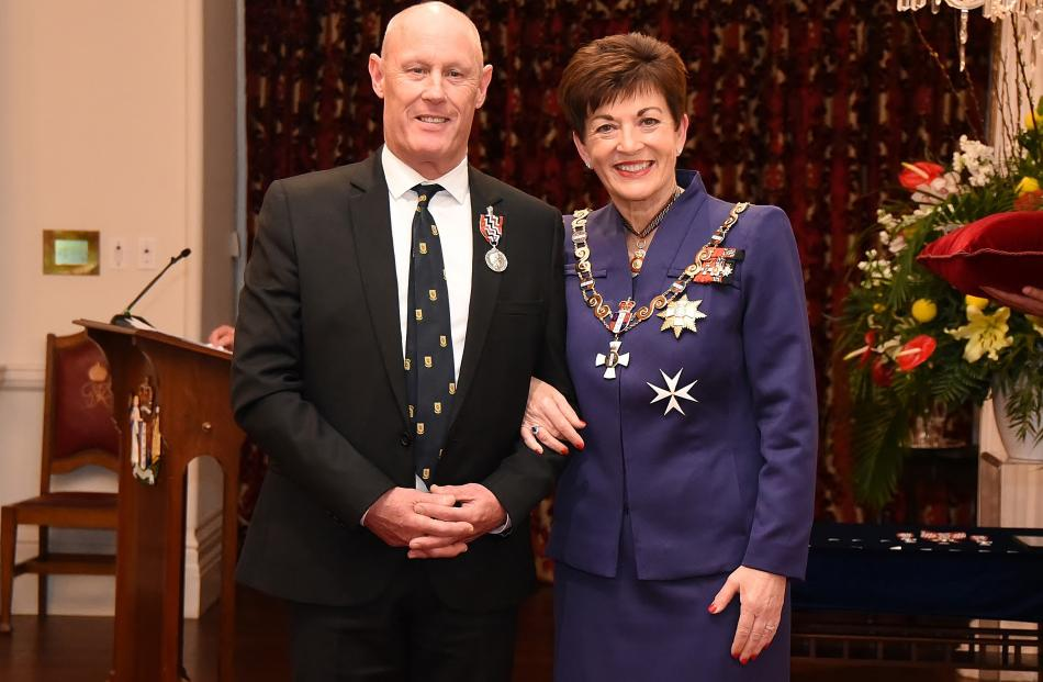 Richard Madden, of Dunedin, is awarded the QSM on Thursday for services to music. Mr Madden's...