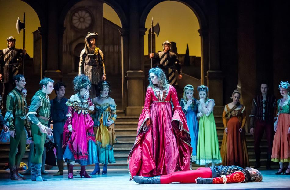 Abigail Boyle as Lady Capulet in Francesco Ventriglia's Romeo and Juliet.