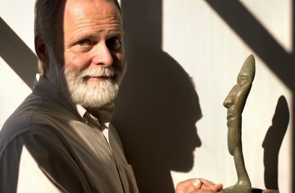 Terry Stringer: ''Generally my work has been about excitement; about what you find  on the other side of the sculpture.''. Photos: Supplied