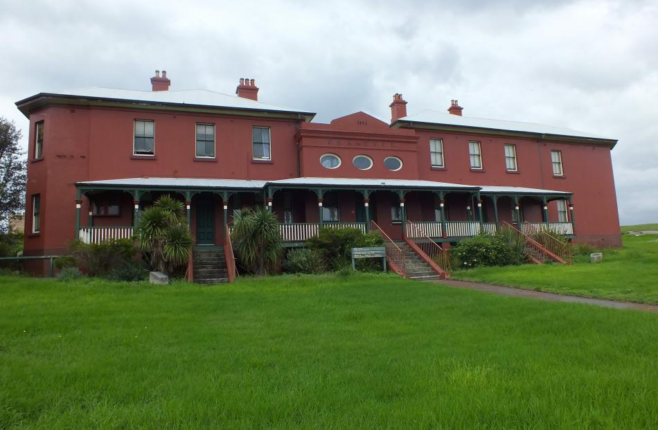 The Laperouse museum originally housed a cable link to Nelson.