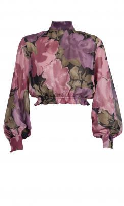 Ruby Belladona cropped blouse $169