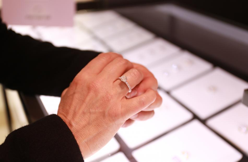 This is the one Lana likes best-diamond ring at Michael Hill Jeweller
