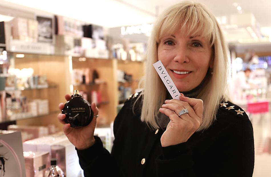 Sniffing lovely fragrances at H&J Smith