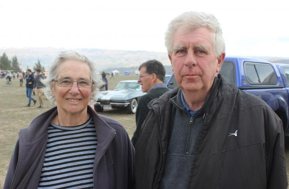 Coleen and Kevin Bayne, of Dunedin.