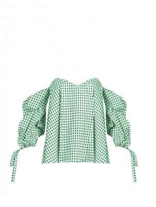 Caroline Contas Gabriella off-the-shoulder top $485 (matchesfashion.com)