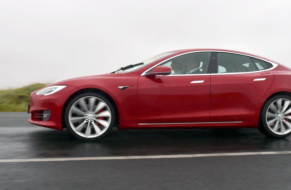 Tesla Model S P100D. Photo: Gerard O'Brien