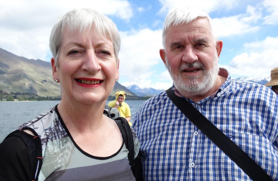 Ali and Lyndon Hay, of Christchurch.